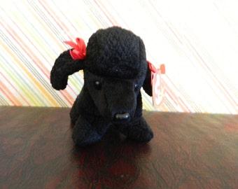 """TY Black Scottish Terrier Dog """"Gi Gi"""" (B)"""