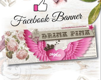 Plexus Facebook Banner Spread your Wings - DIGITAL FILE
