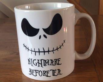Jack Skellington Nightmare Before Tea Mug