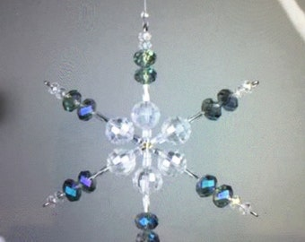 Snow Flake Ornament Wire Form Kit