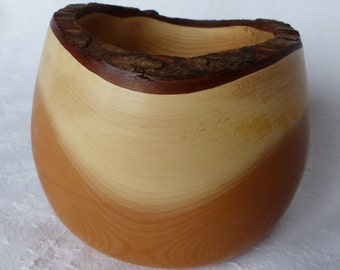 Yew Natural Edge Bowl