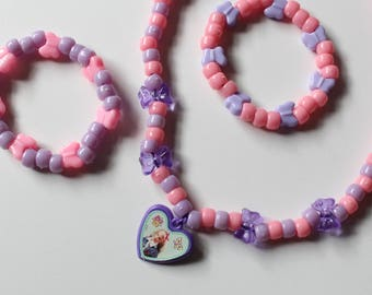 90's Barbie Charm Choker Set