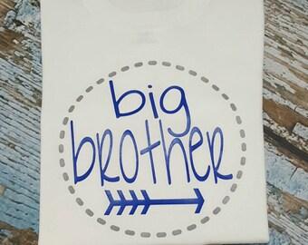Big brother shirt, big brother tshirt, big brother, big brother little brother matching shirts, little bro, big bro