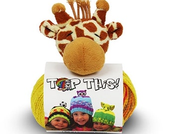 """TopThis"""" Knitted Hat Kit"""