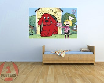 Clifford Big Red Dog 01- KIDS - Massive Wall Poster/Picture/Art