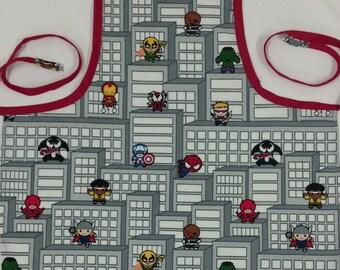 Child's Marvel Kawaii Full Apron