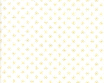 SALE!! 1 Yard Sugar Pie by Vanessa Goertzen of Lella Boutique for Moda- Sprinkle -5045-11 White