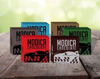 Mini Squares - Gluten-free, Soy-free, Dairy-free, Aztec-inspired Chocolate