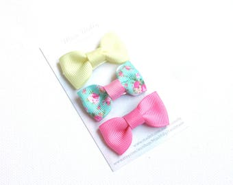Baby/Toddler Hair clips, baby/toddler snap clips, baby/toddler hair accessories