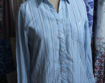 Ladies stripe blouse REF 584