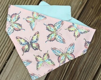Butterfly Kisses Bandana and Bow