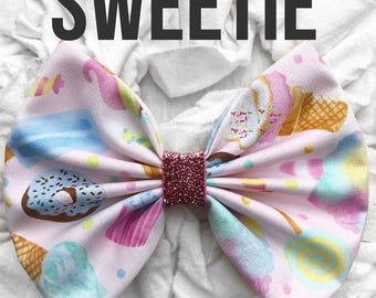 Sweetie Bow Band Homemade