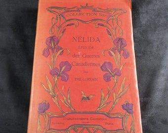 NELIDA Episode des guerres canadiennes 1812-1814  | THIL-LORRAIN | Castermann publisher | Iris Collection | Edition 1900s