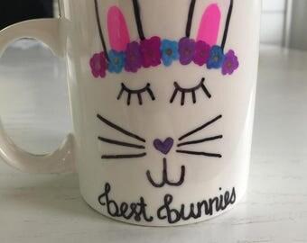 Easter Bunny mug for kids 11oz