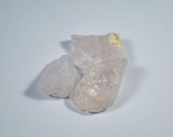 50 Carat Natural Rough Morganite - Pink Beryl Lot (Morgan01)