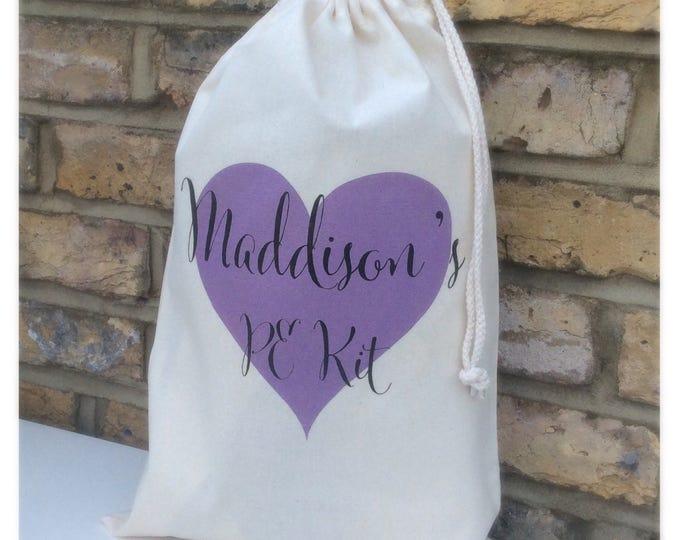 Personalised gift bag | Drawstring bag | Pouches | Keepsake bag | Children's bag | Gift bags | Sack.