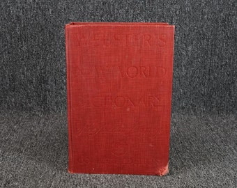 Websters New World Dictionary College Edition C. 1960