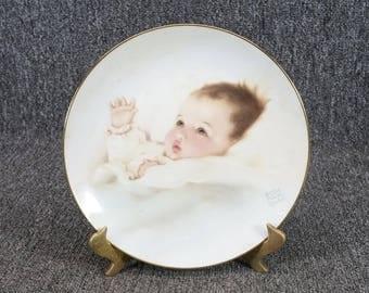 The Hamilton Collection Bundles of Joy Collectors Plate c. 1987