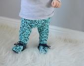 Baby Leggings  Heart leggings Girls Leggings Unisex Leggings Boys Leggings Summer Leggings Cloth Bum Leggings Toddler Leggings