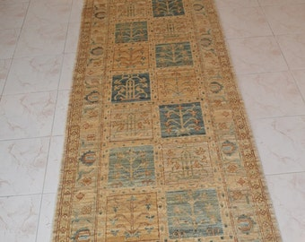 FREE SHIPPING 388 by 86 CM Superb Natural Dye Washable Bakhtiari Runner