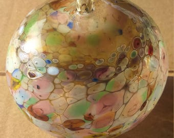 Hand Blown Glass Blown Glass Ball Blown Glass Christmas Ornament Glass Ball Christmas Glass Ball Christmas Glass Ornament