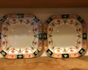 Two royal vale sandwich plates