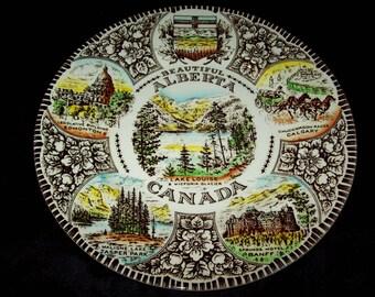 Wood & Sons - Alberta Plate - CANADA