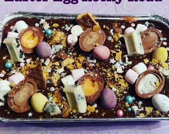 Easter Egg Rocky Road / Easter Treat / Pink Rocky Road / Traybake