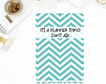 Don't Ask Sticker Binder Cover! Perfect for the Mini or Standard Binders!