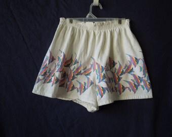 SALE 90s Fish Beach Shorts