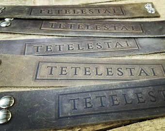 TETELESTAI Leather Bracelets / NEW!