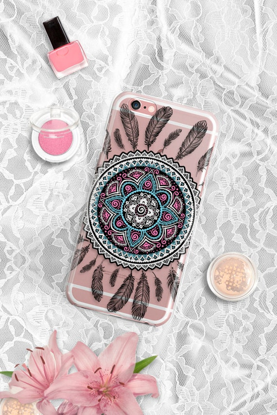 iPhone 6s Case Clear Bohemian iPhone 6 Case transparent iPhone SE Case iPhone 5 case iPhone 5s case Clear iphone 6s Plus case iphone 6s case