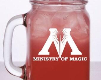 Ministry of Magic Harry Potter Mason Mug