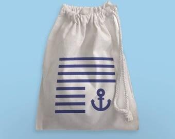 Cotton sailor bag