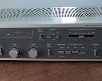 Vintage MCS Series 683-3840 Integrated Stereo Amplifier