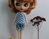 RESERVE A STEPHANIE (not buy) Bloomer/bath/swimsuit for your Blythe, Pullip dolls/doll swimsuit, Barbie