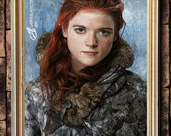 Ygritte wildling beyond the wall