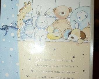 A Baby Boy Card