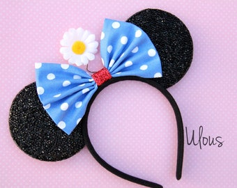 Vintage Minnie Ears, Minnie Mouse Ears, Disney Ears, Vintage Minnie, Minnie Ears, Vintage Minnie Mouse Ears, Classic Minnie Ears, Minnie