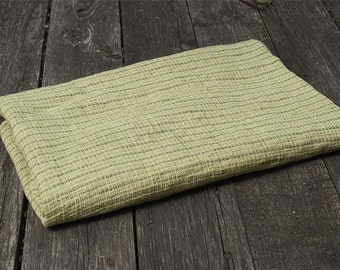 Green linen waffle towel. Linen towels. Green bath towels. Christmas gift for her. Washed linen bath sheets. Natural