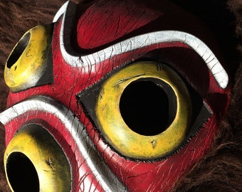 Princess Mononoke San Mask - painted