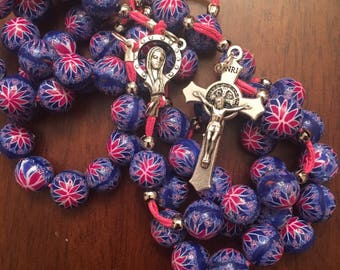 Handmade Rosary beads 10 mm