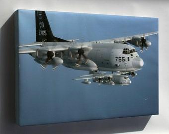 Canvas 24x36; Kc-130J Hercules Aircraft, (Vmgr) 352