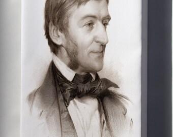 Canvas 24x36; Ralph Waldo Emerson P1