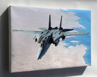 Canvas 24x36; F-14 Tomcat P1