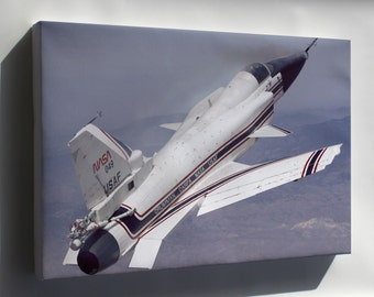 Canvas 24x36; X-29 During A 1991 Research Flight X-Plane Experimental