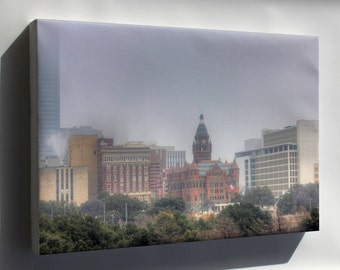 Canvas 16x24; Gfp Dallas Texas Downtown