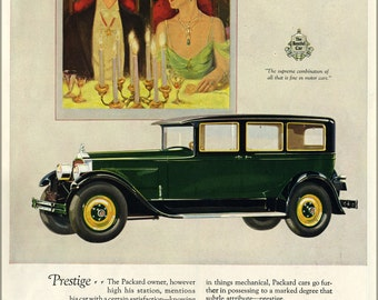 16x24 Poster; 1927 Packard Magazine Ad 5576370304