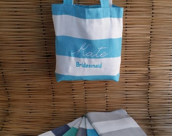 Set Of 8 Wedding Tote Bags,Bridesmaid Bags,Bridesmaid Tote Bags,Bridesmaid Bag,Bridal Party Gifts,Bride,Wedding Gift,Cotton Bag
