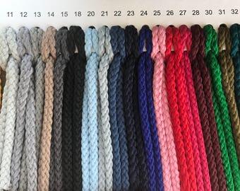 Macrame cord 4mm, macrame rope, macrame supplies, macrame string, chunky yarn, yarn for macrame, macrame yarn, cotton rope, craft cord, rope